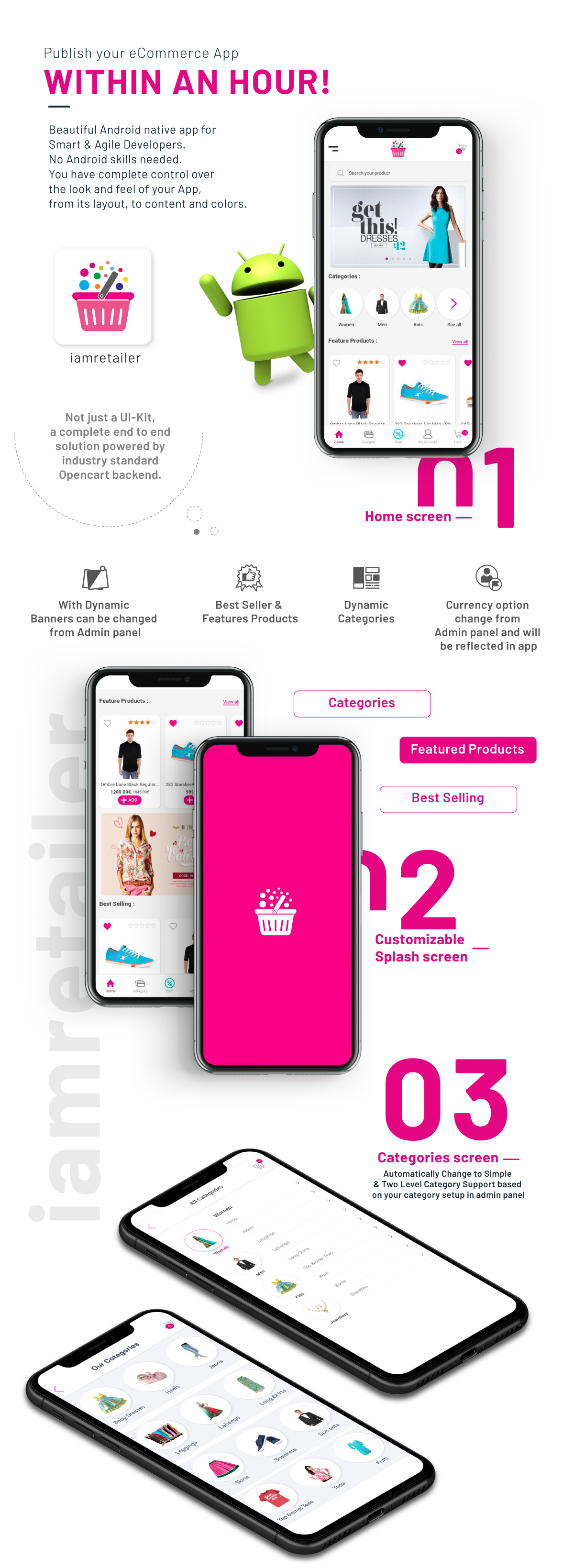 i.am.retailer - Android Shopping App powered by Opencart - 5