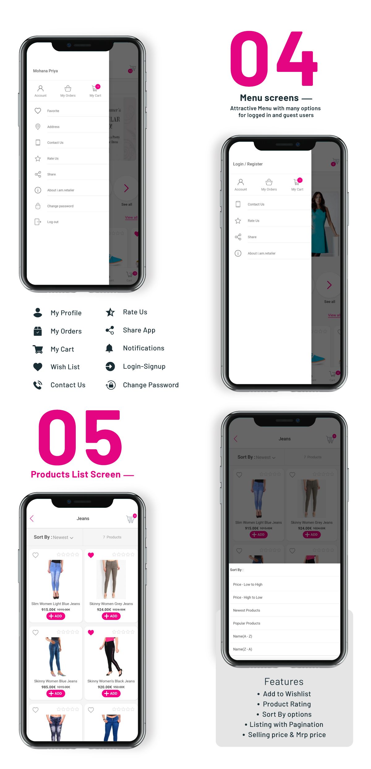 i.am.retailer - Native Android Shopping App powered by Opencart - 6