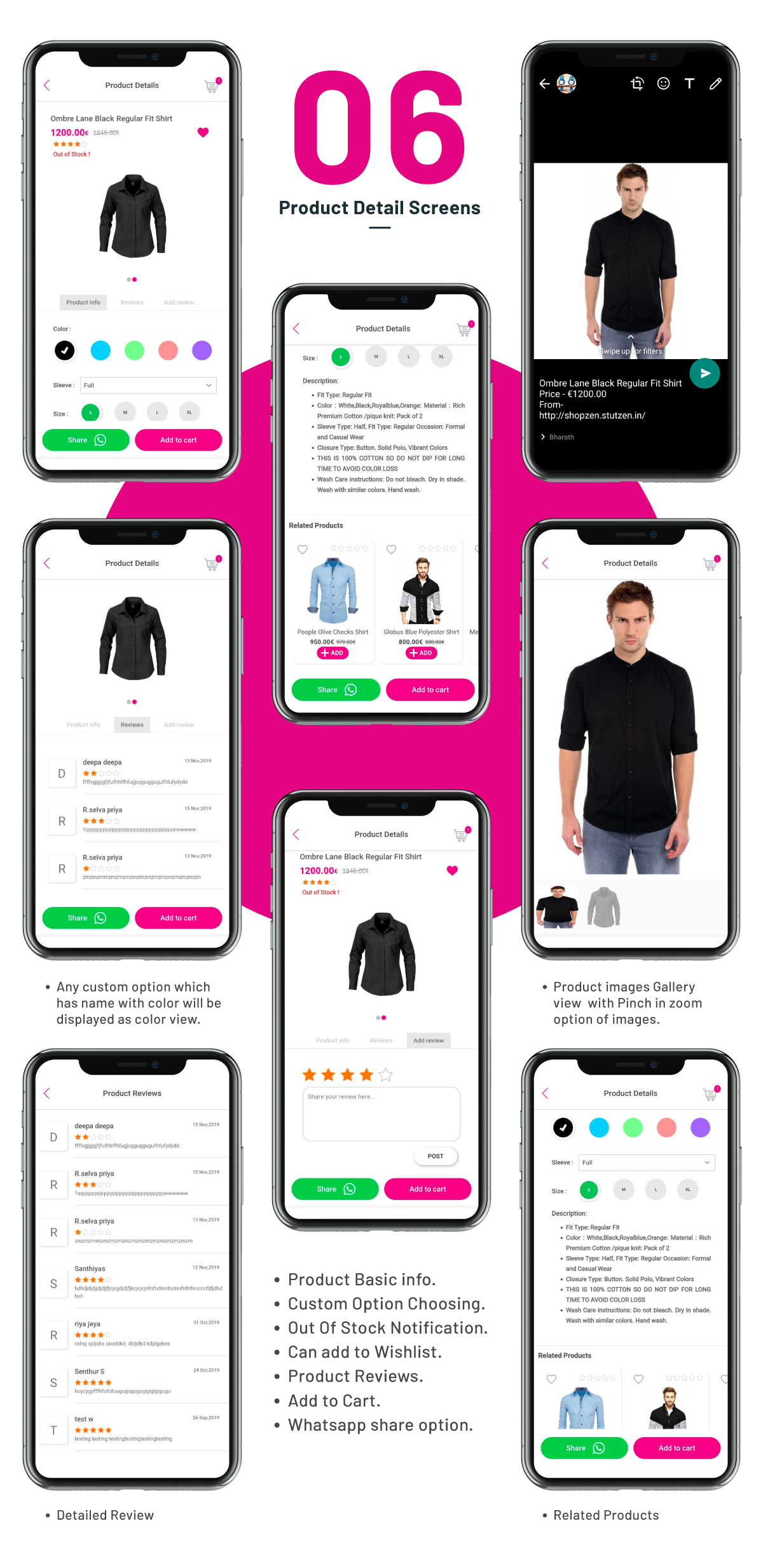 Complete Native Android Shopping App Source Code with Opencart - 5