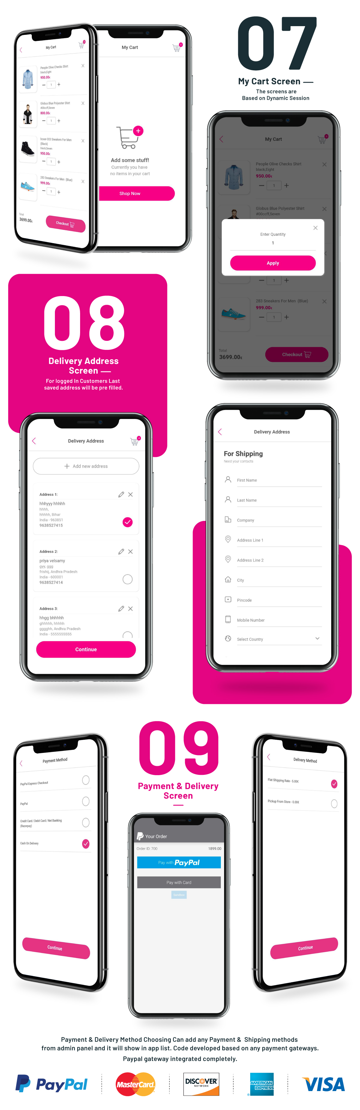 i.am.retailer - Android Shopping App powered by Opencart - 8