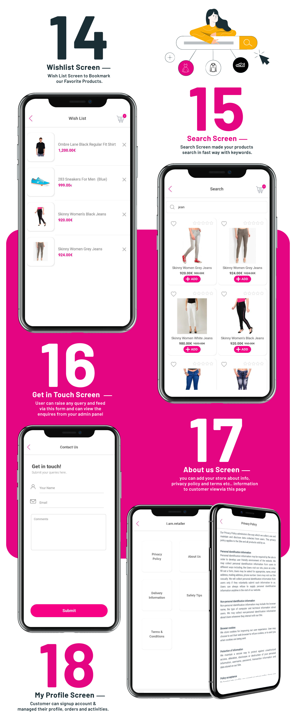 i.am.retailer - Android Shopping App powered by Opencart - 10